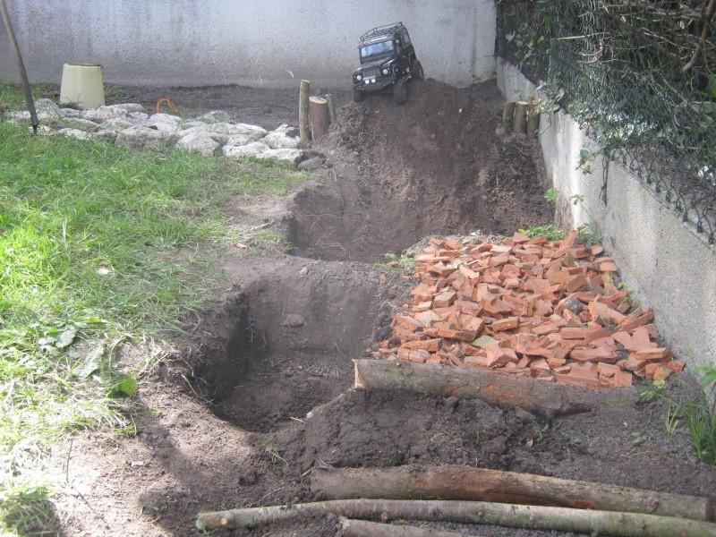 Début de parcours dans mon jardin. Img_4013