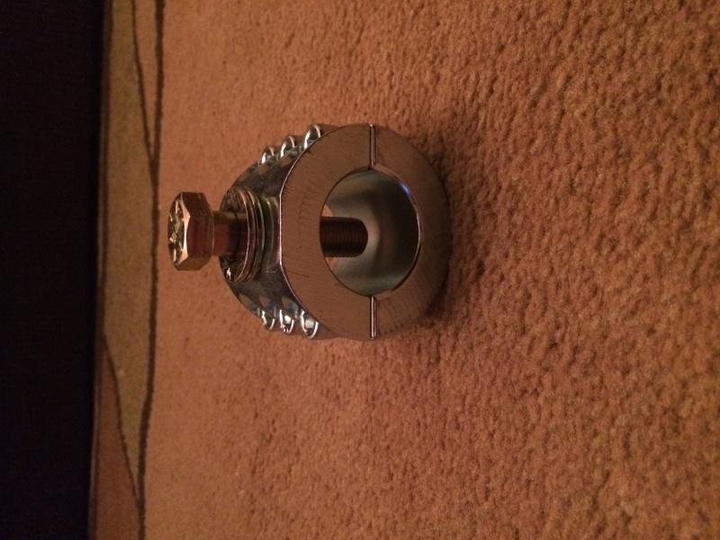 Jk synergy tie rod clamp Image24