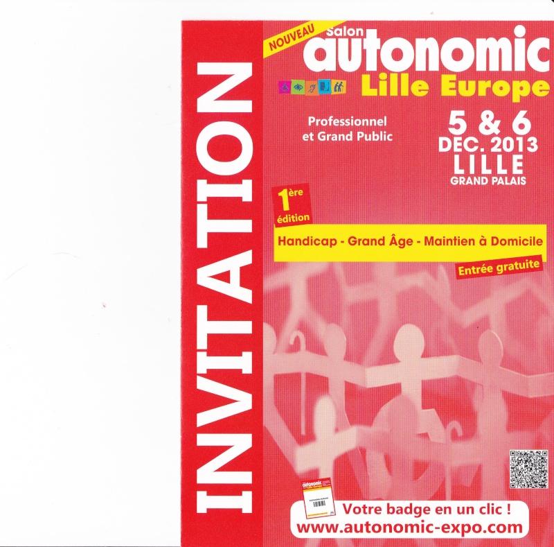 SALON AUTONOMIC LILLE  Invita10