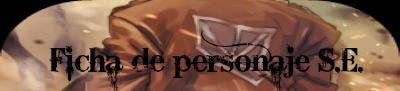 Ficha de personaje S.E.