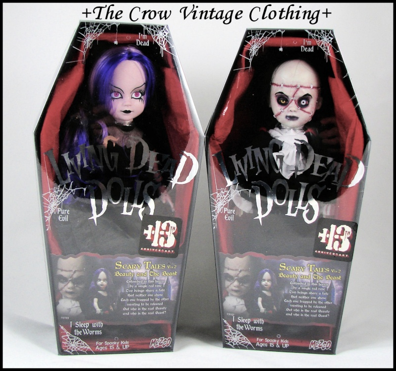 Living Dead Dolls Beauty and the Beast Scary Tales bambole Nuove gothic horror Beauty10