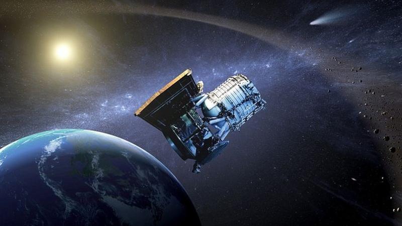 La Terre en orbite avec un astéroïde 00310