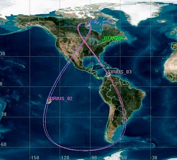 Lancement Proton-M / Sirius-FM6 - 25 octobre 2013 Tundra10