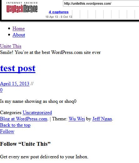 The Amusing First Post of the Anti UniteBlue site UniteThis. 1326_s10