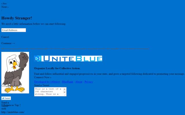 UniteBlue Website was Registered August 13th, 2012. Facts Matter 1445_s10