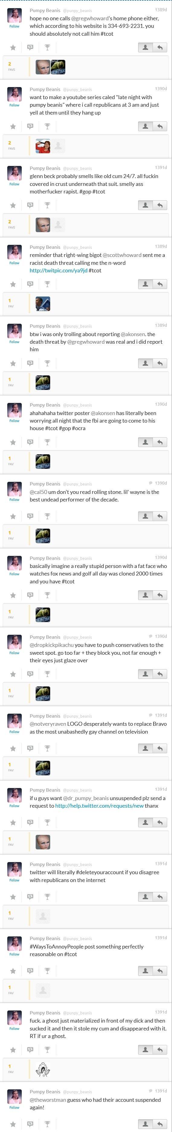 2010 FavStar tweets by BeanDog Pumpy Beanis 857_sc10