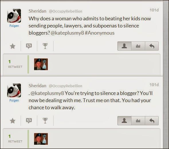 Sheridan @OccupyRebellion Attacks Kate Gosselin 9jas4u10