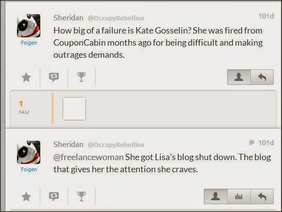Sheridan @OccupyRebellion Attacks Kate Gosselin Fmwc2u11