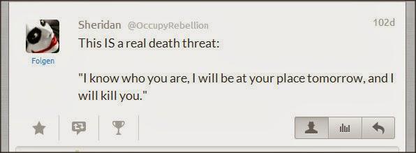 Sheridan @OccupyRebellion Attacks Kate Gosselin Lwrxks10
