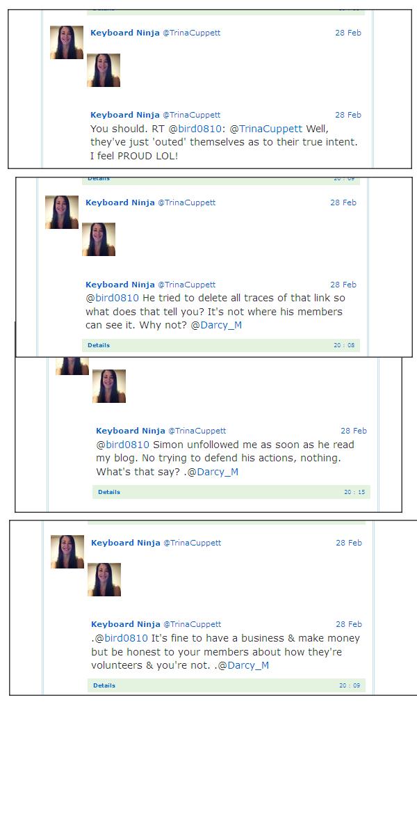 Trina Cuppett Tweet Captures February 28th, 2013 Trina212