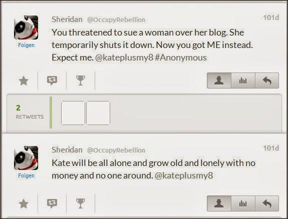 Sheridan @OccupyRebellion Attacks Kate Gosselin Xe2lpf10