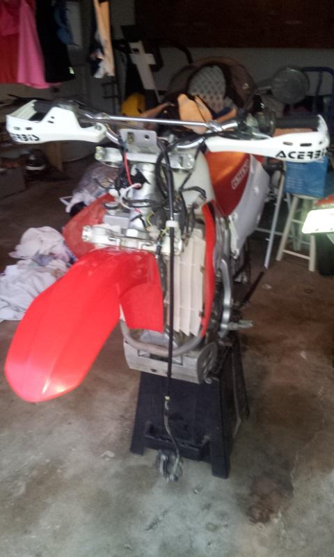new XR650R owner. Hello from Huntington Beach, CA. Xr410