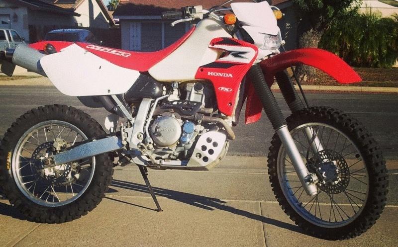 new XR650R owner. Hello from Huntington Beach, CA. Xr_gif11