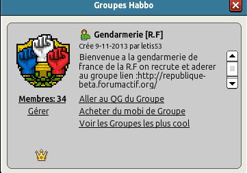 Nouvelle filière  (Gendarmerie) Gn110