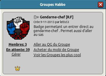 Nouvelle filière  (Gendarmerie) Gn210