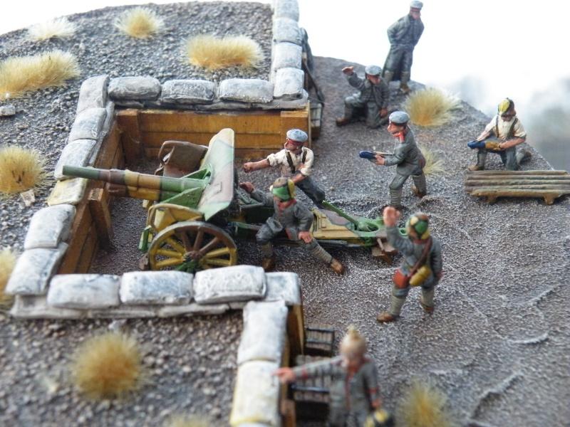 Deutsche Artillerie 1. Weltkrieg 1/72 Dscf1737