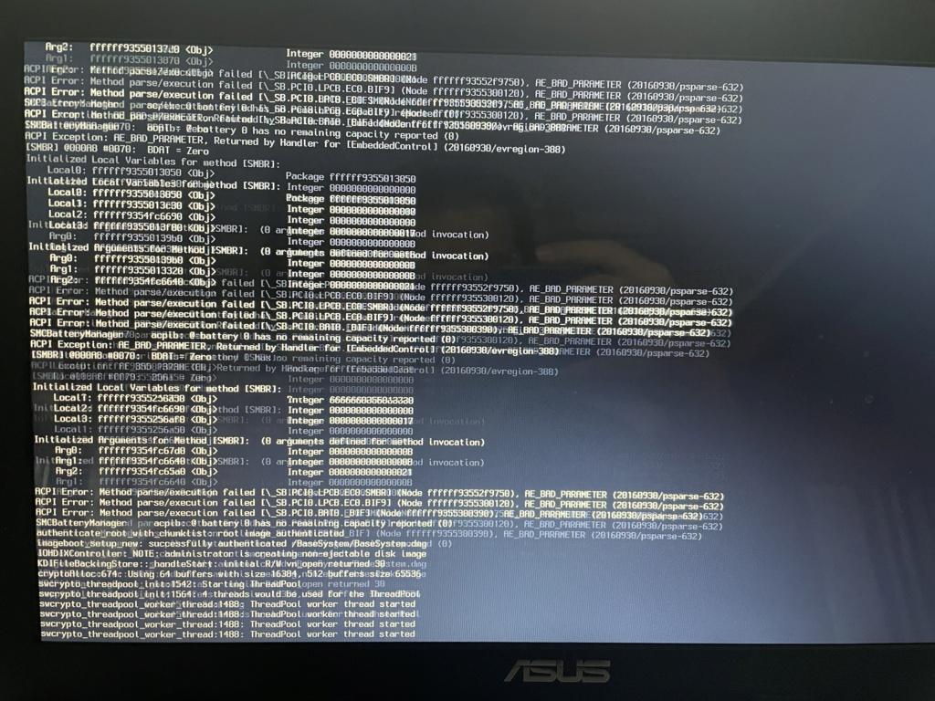 Asus X75VC : Pb install Big Sur Img_0311