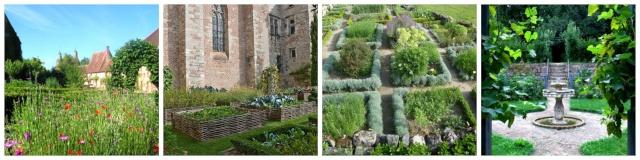 [Fiche] Les 7 types de jardins : Le jardin au Moyen-Age (Occident) Gh10