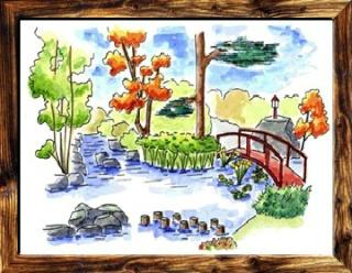 [Fiche] Les 7 types de jardins : Le jardin au Japonais Jardin13
