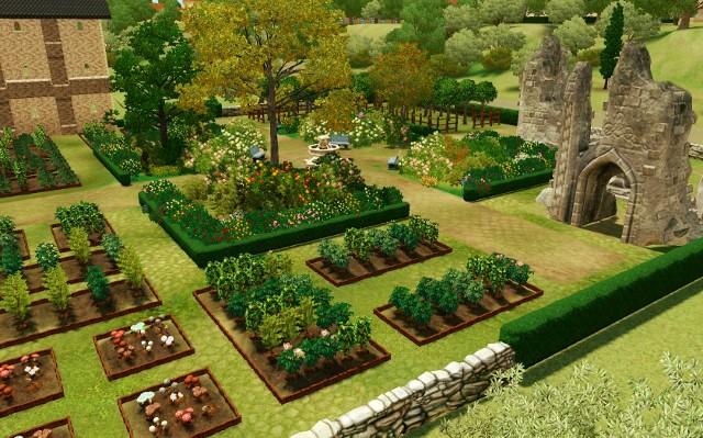 [Fiche] Les 7 types de jardins : Le jardin au Moyen-Age (Occident) Screen83