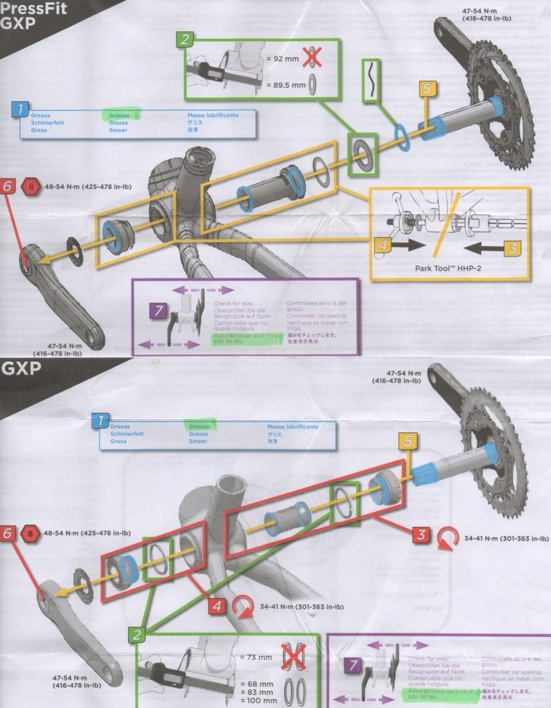 Boîtiers de pédalier SRAM-TRUVATIV: Les différents types de montages Gxp_bm10