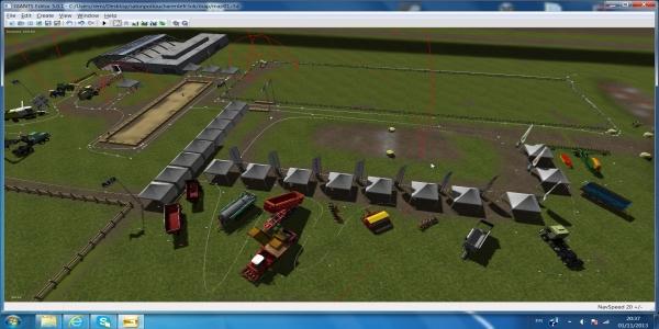 salon agricole poitou-charentes france3 sur farming simulator Glob10