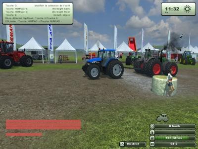 salon agricole poitou-charentes france3 sur farming simulator Tire10