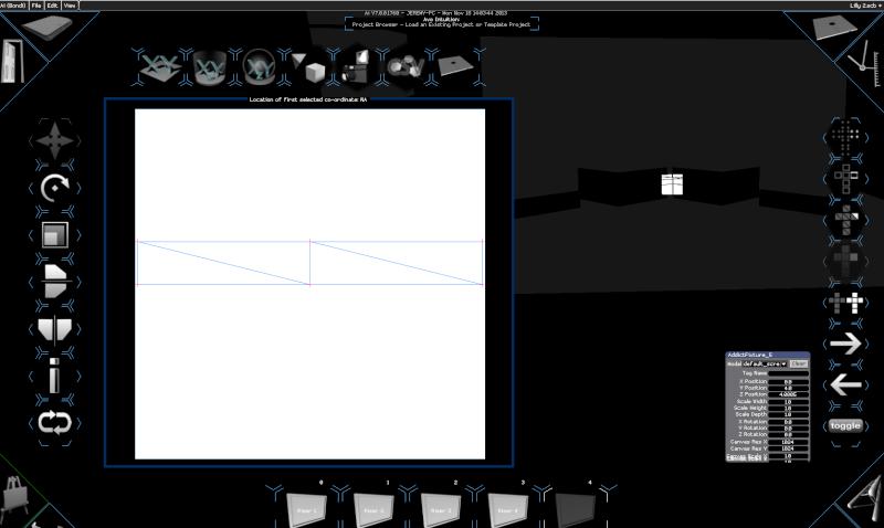 Add a Screen Fixture after a Structure Fixture Caneva10