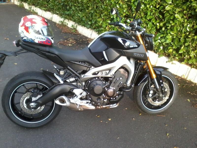 Photos de toutes les Yamaha MT-09 du forum ! :) 2013-110