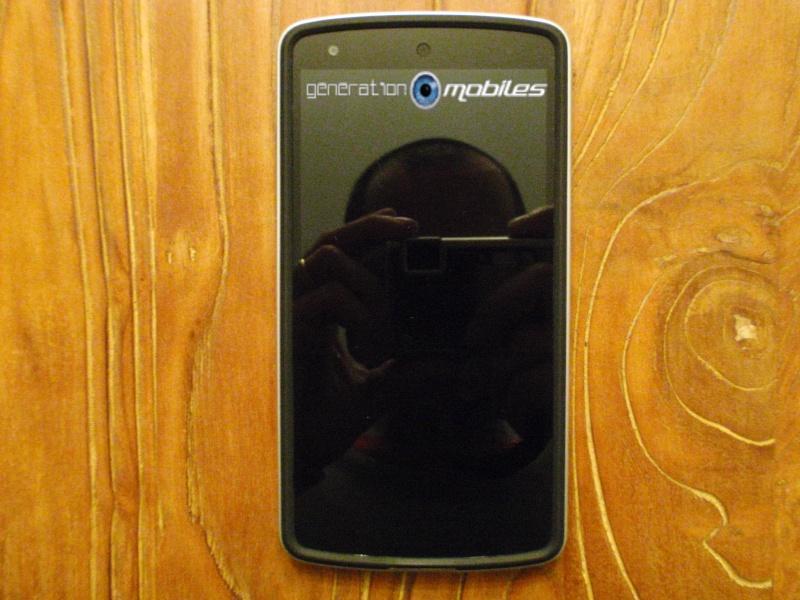 [MOBILEFUN.FR] Test Coque Nexus 5 Spigen SGP Neo Hybrid – Argent Satiné  1110