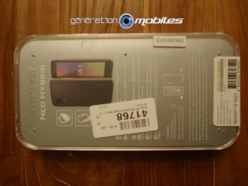[MOBILEFUN.FR] Test Coque Nexus 5 Spigen SGP Neo Hybrid – Argent Satiné  210