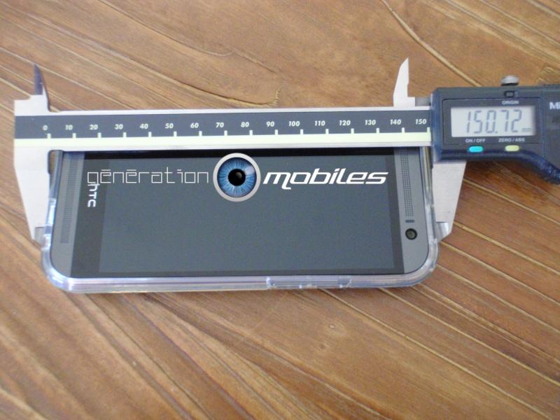 [MOBILEFUN.FR] Test Coque HTC One M8 Spigen Ultra Fit – Transparente Ep210
