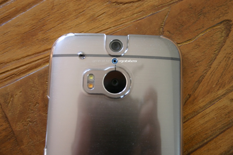 [MOBILEFUN.FR] Test Coque HTC One M8 Case-Mate Barely There - Transparente Htc610