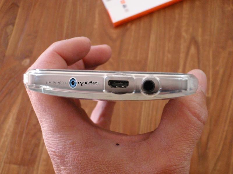 [MOBILEFUN.FR] Test Coque HTC One M8 Spigen Ultra Fit – Transparente Tel210