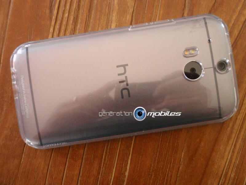[MOBILEFUN.FR] Test Coque HTC One M8 Spigen Ultra Fit – Transparente Tel610