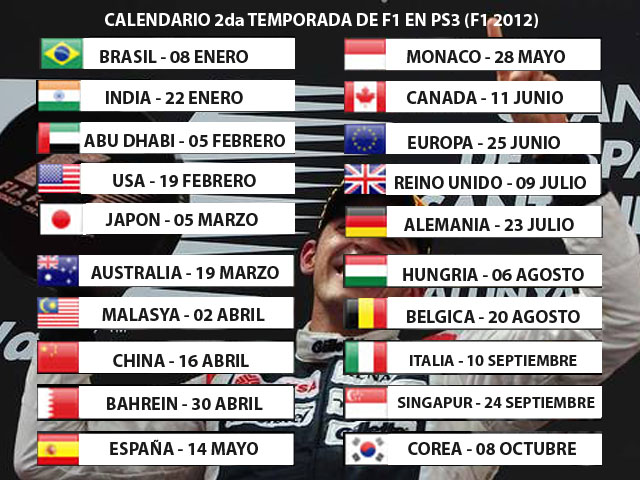 Calendario Calend12