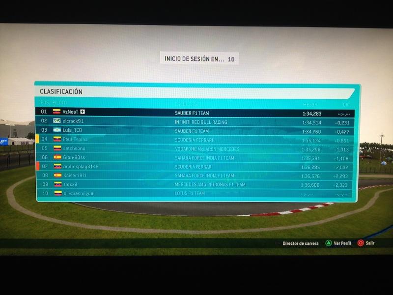 6a Fecha - Gran Premio de Malasia  Q20