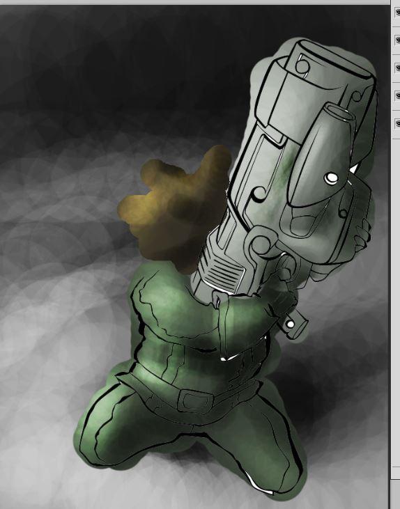 Colorisation gardien de la galaxie Captur54