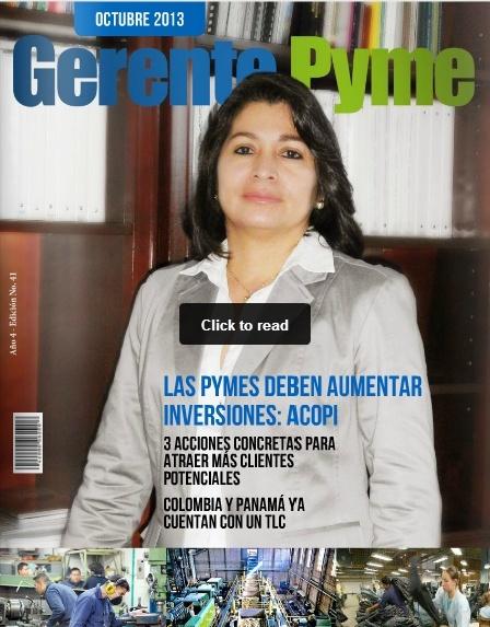 TEMA LIBRE REVISTA GERENTE PYME Revist10