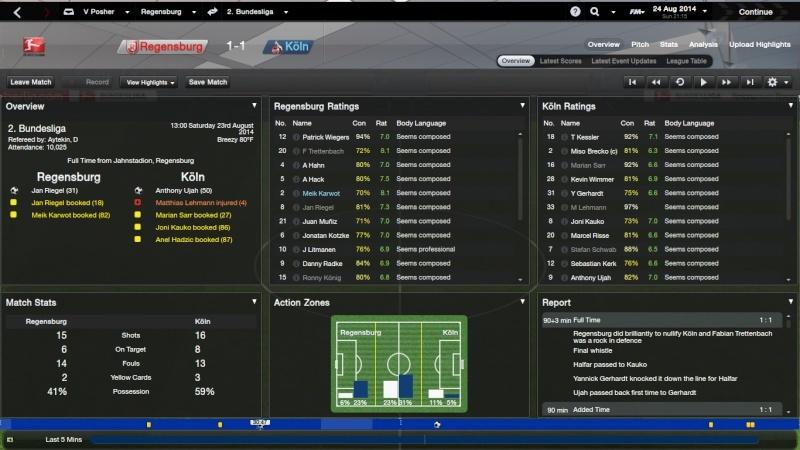 scoreboard - New and improved Scoreboard for FM14 Regens16