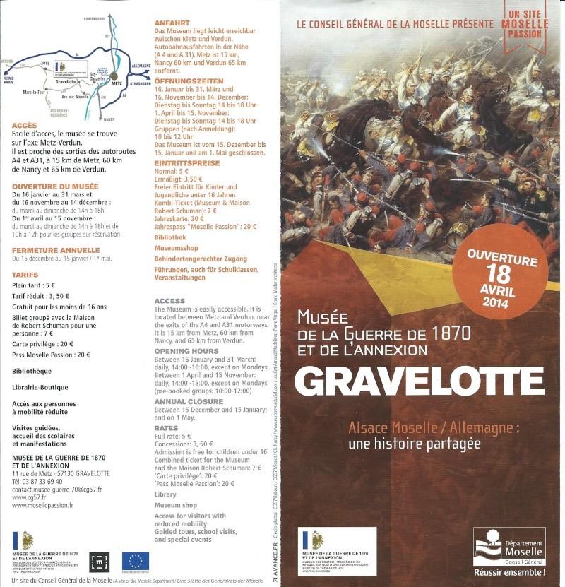 NOUVEAU MUSÉE DE GRAVELOTTE Gra110