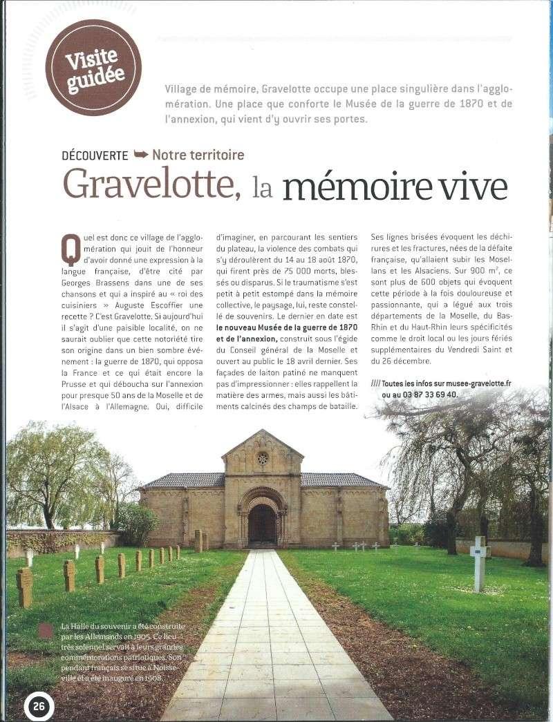 NOUVEAU MUSÉE DE GRAVELOTTE Grav110