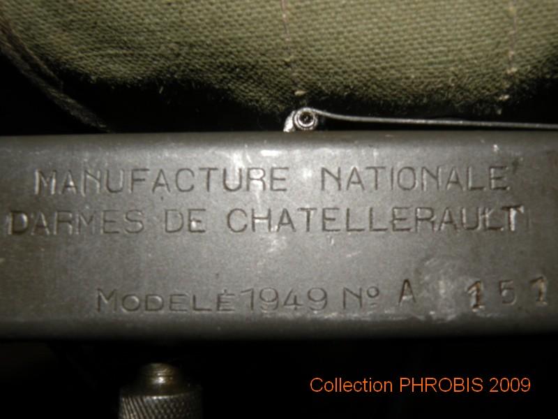 PISTOLET MITRAILLEUR DE 9 mm (MODELE 1949) - Page 2 Mat49_10