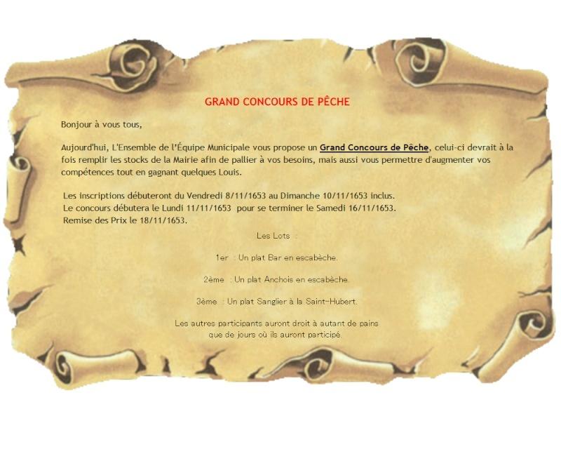 [RP] Panneau d'affichages et annonces diverses - Page 4 Concou11