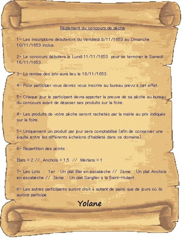 [RP] Panneau d'affichages et annonces diverses - Page 4 Reglem10