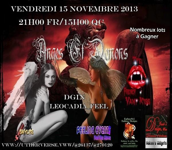 Soirée Ange et Démons du 15 novembre 2013 Angede12