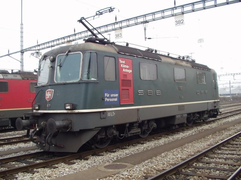 Suisse :  Re 4/4 II (Re 420, Re 421) ... Re_4_425