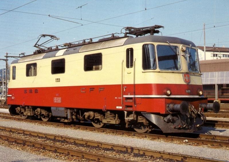 Suisse :  Re 4/4 II (Re 420, Re 421) ... Re_4_426
