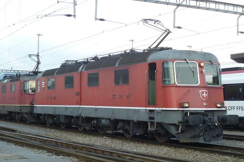 Suisse : Re 6/6 ( Re 620 ) ... Re_6_612