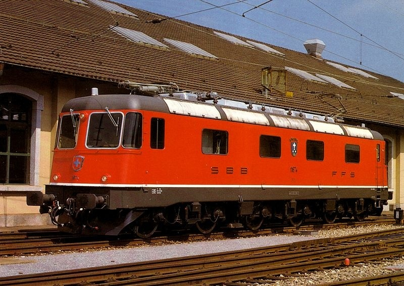 Suisse : Re 6/6 ( Re 620 ) ... Re_6_613